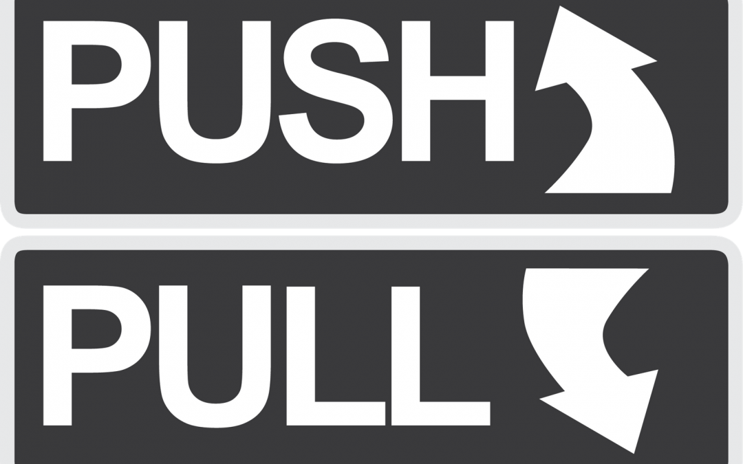 Push or Pull – How does your Organization Manage your Sales Talent