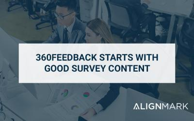 360Feedback starts with good survey content