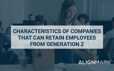 Characteristics of companies thatretain employees from Generation Z